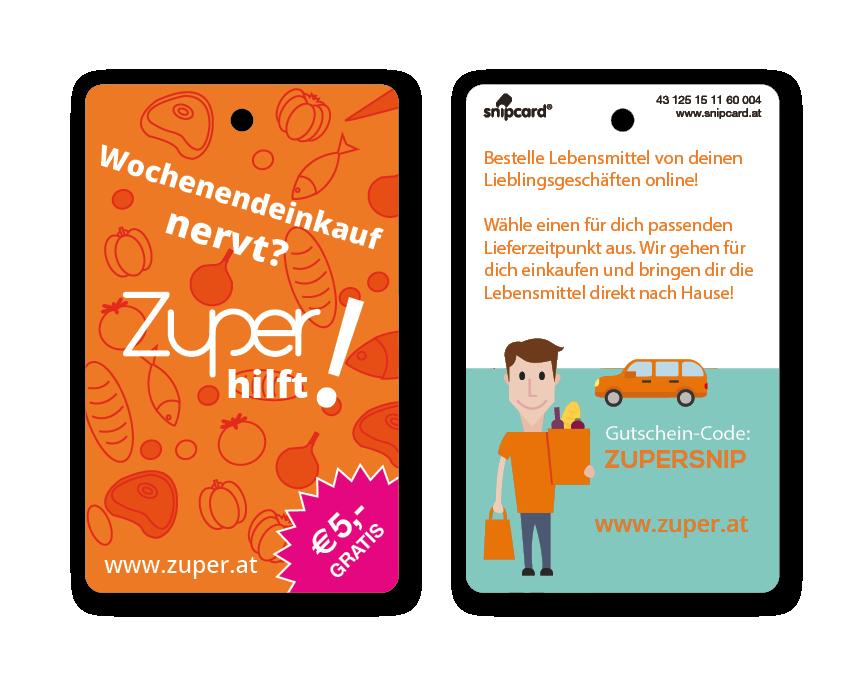 Zuper snipcard